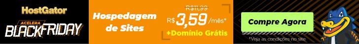 HostGator (728x90) Promoção