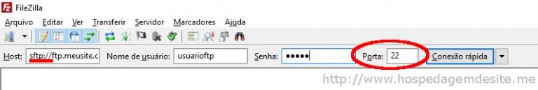 conexao sftp