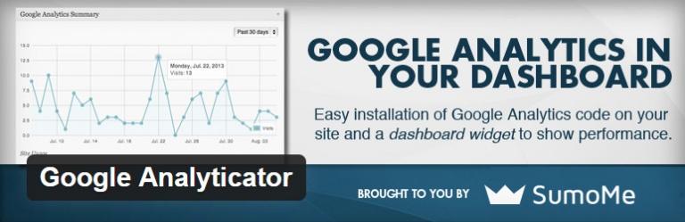 plugin google analyticator