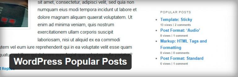 plugin wordpress popular posts
