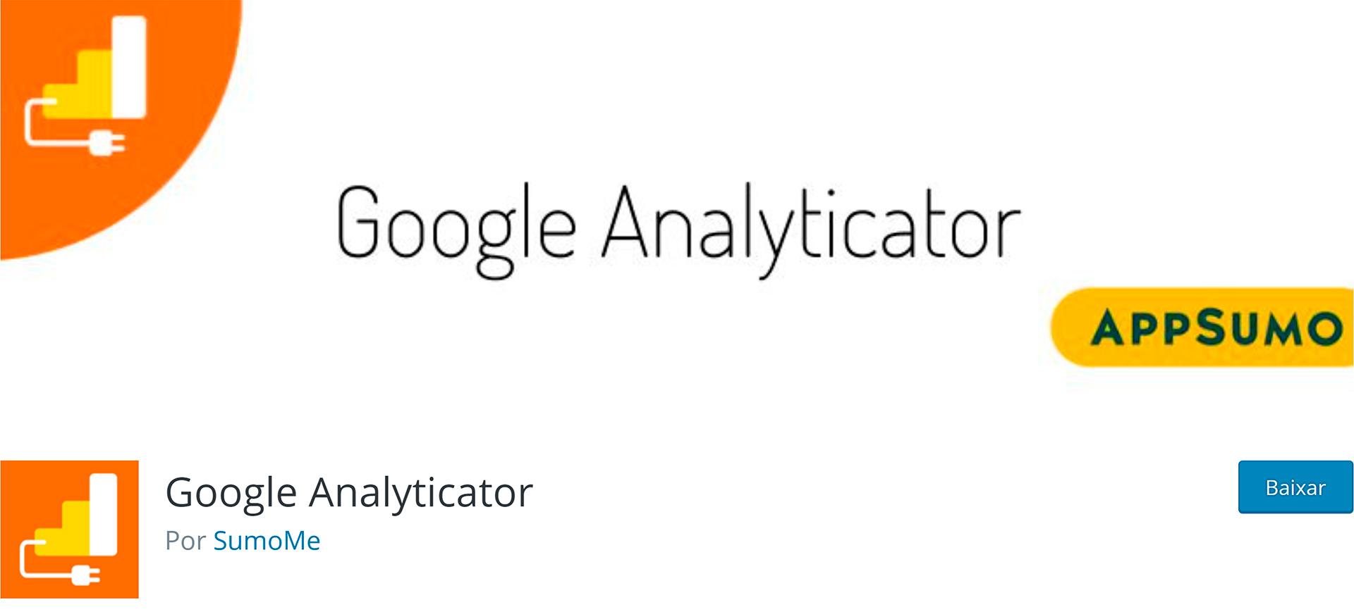 WordPress Plugins Google Analyticator