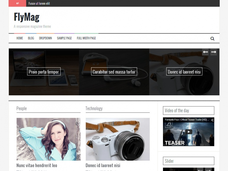 tema wordpress flymag
