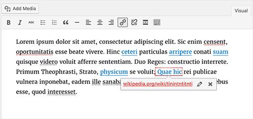 wordpress . links quebrados