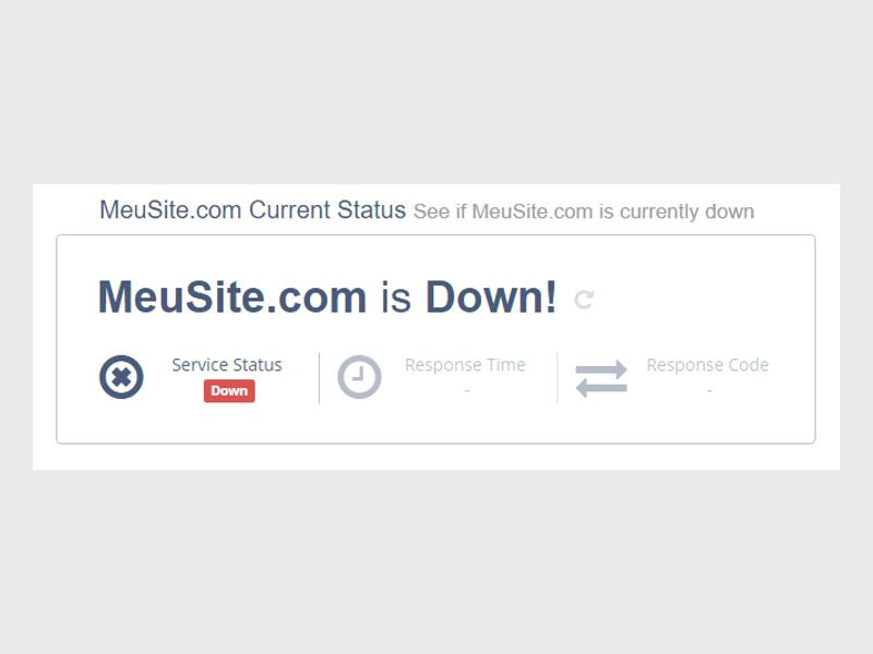 site offline