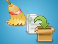 limpeza de arquivos