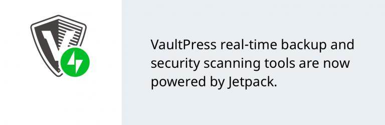 vaultpress jetpack