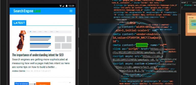 google removeu site por causa dos iframes com meta tag noindex