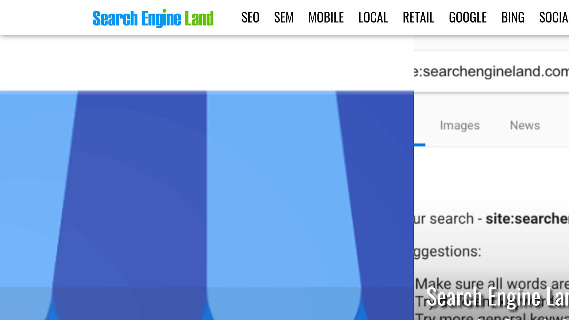 search engine land foi removido dos resultados de buscas do google