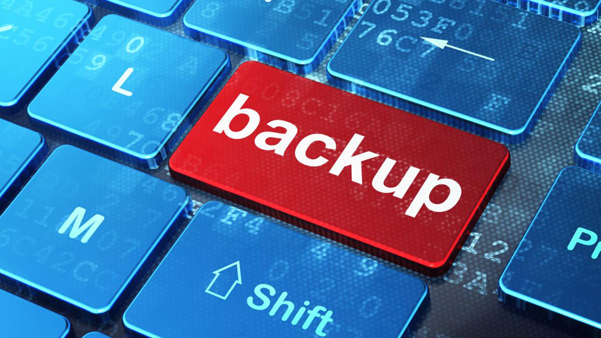 backup do site