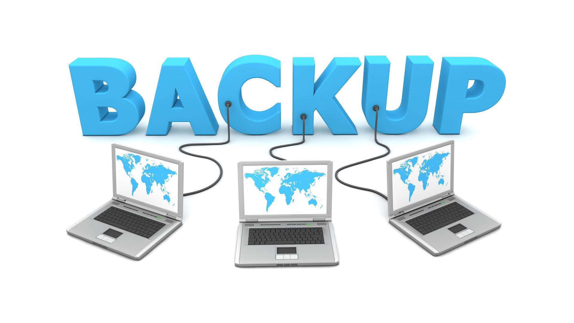 backup e restauração de sites