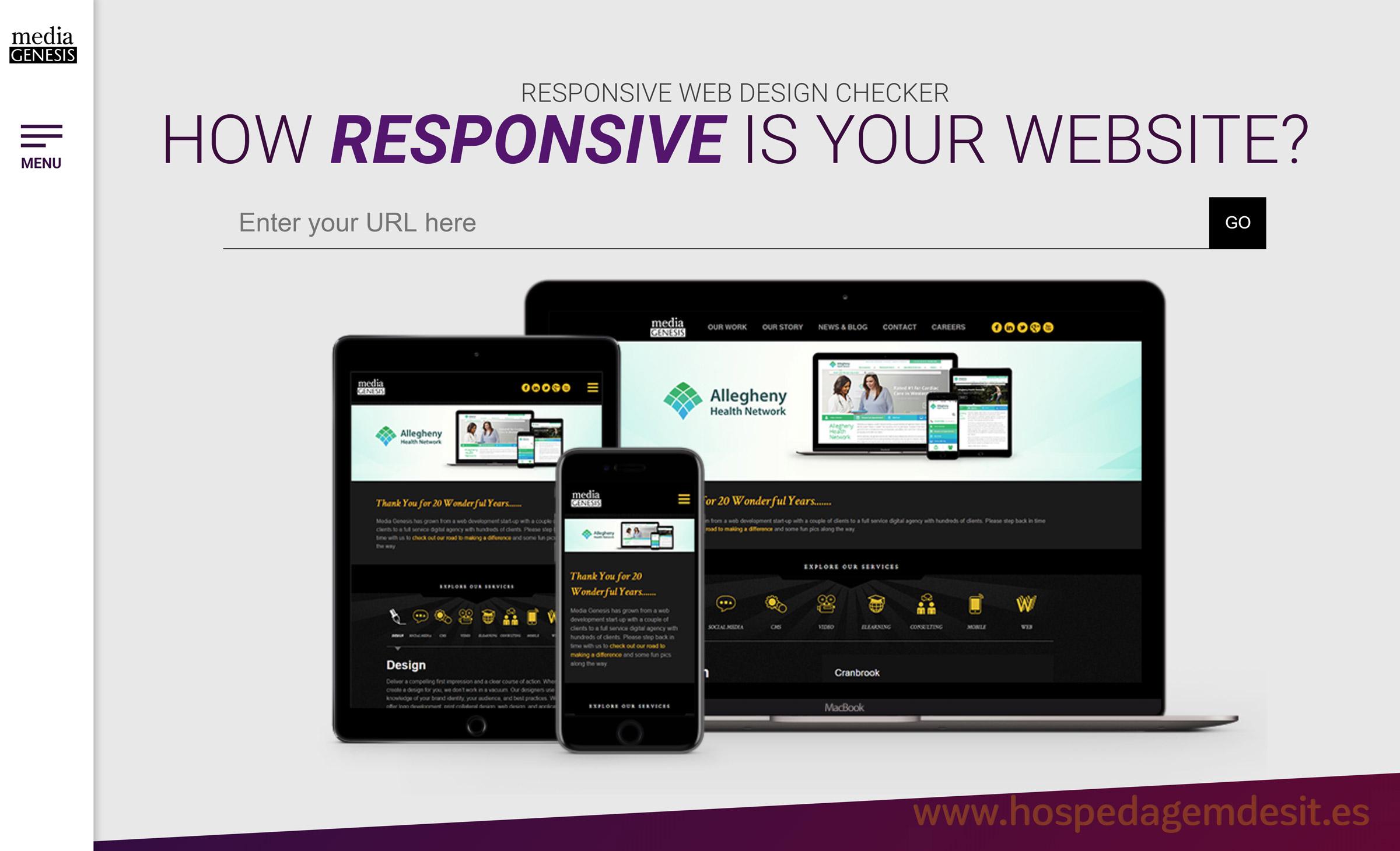 ferramenta para testar site responsivo