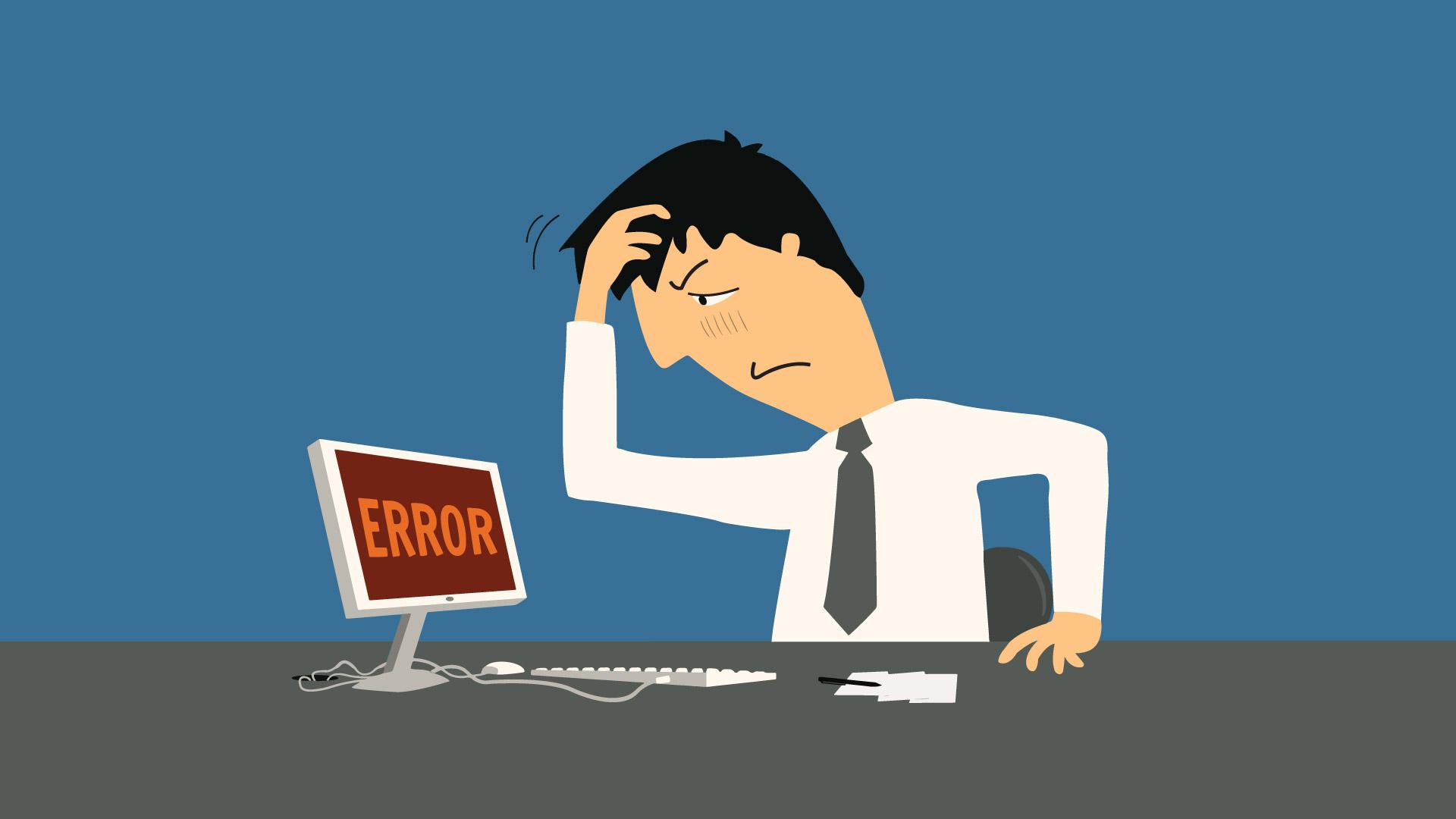 hospedagem de site problemas erros