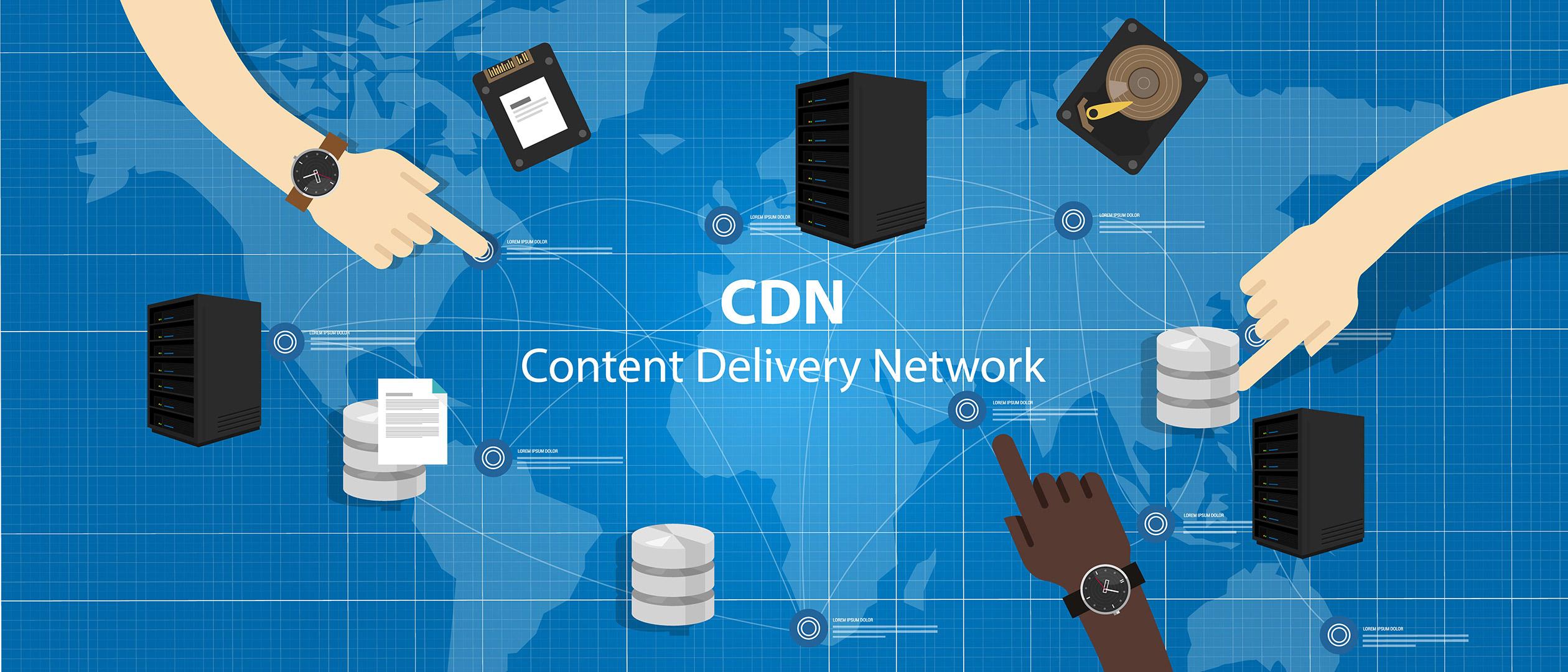 cdn rede de distribuição de conteúdo