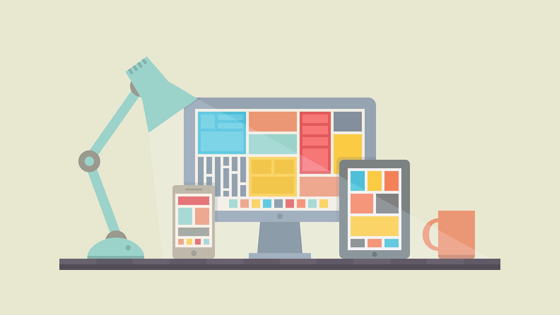 criação de sites simples