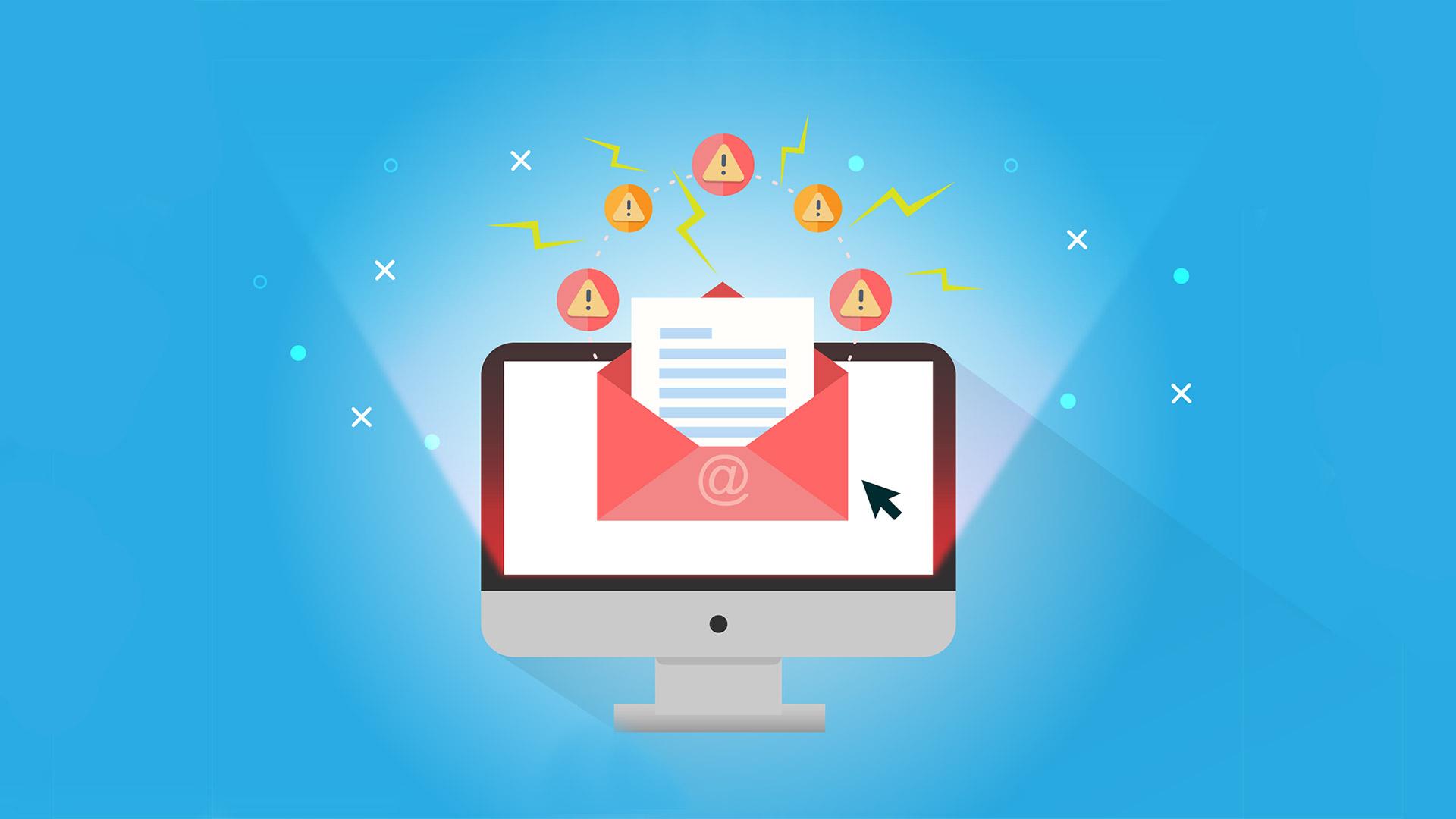 site fora do ar olhar caixa de e-mail