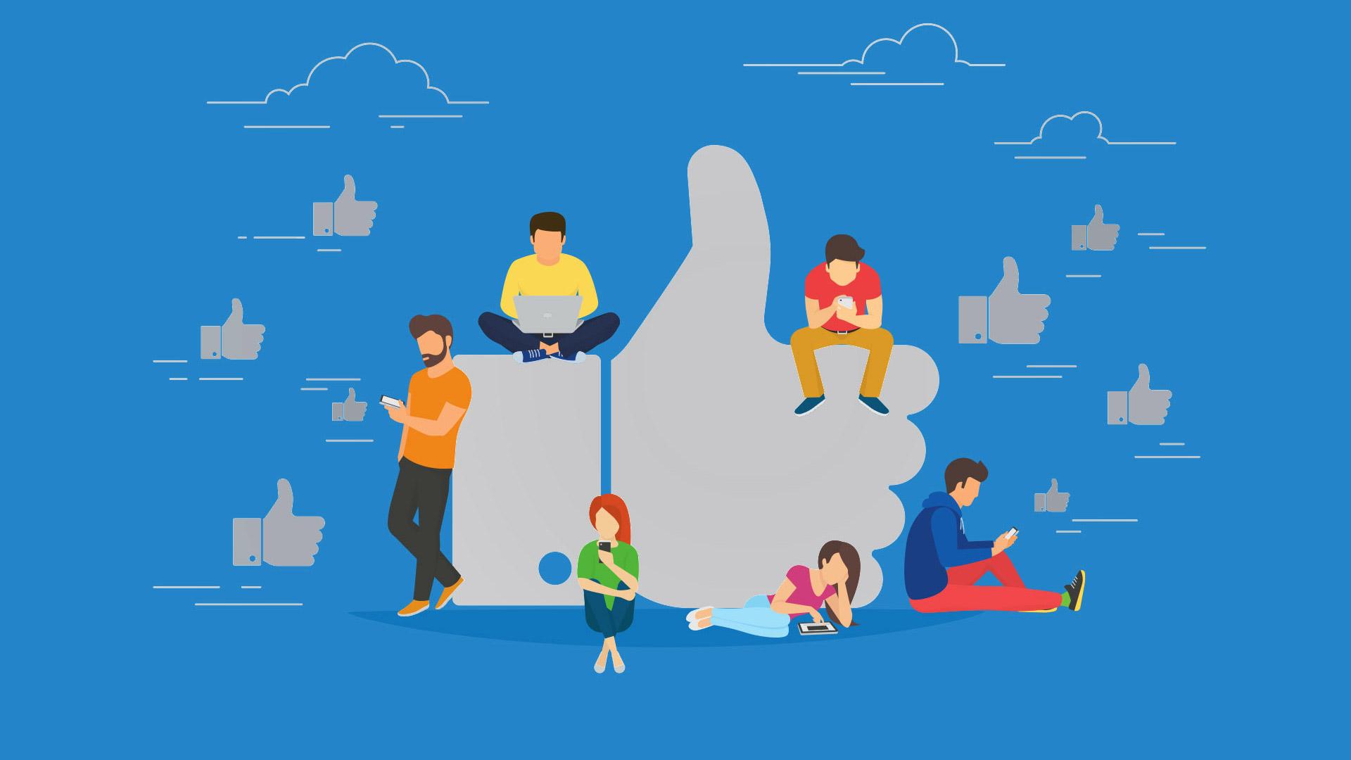 site responsivo mais compartilhamentos nas redes sociais