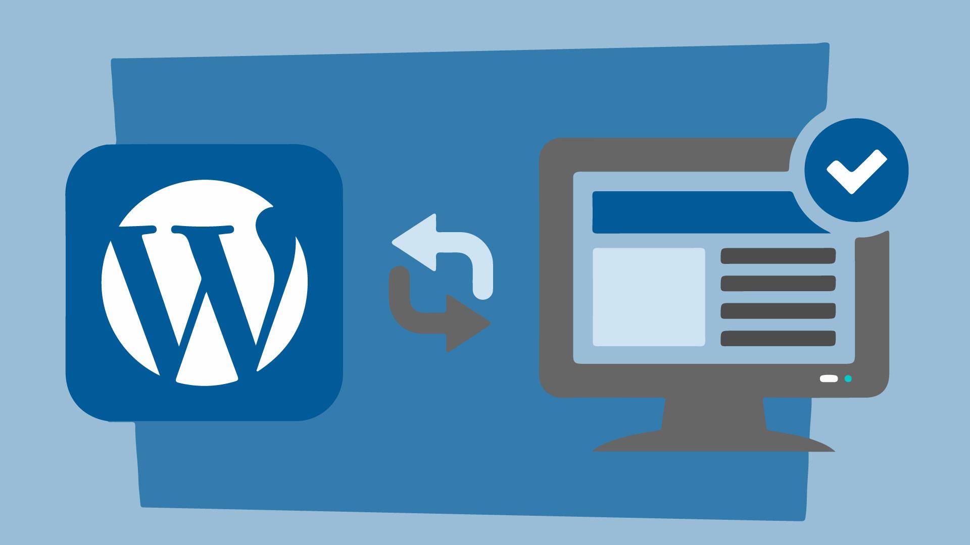 site fora do ar ao atualizar WordPress