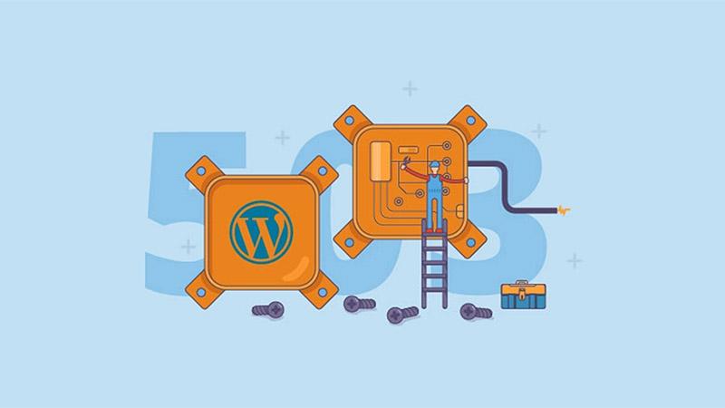 site fora do ar por WordPress erros