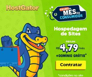 HostGator Promoção 60% de desconto