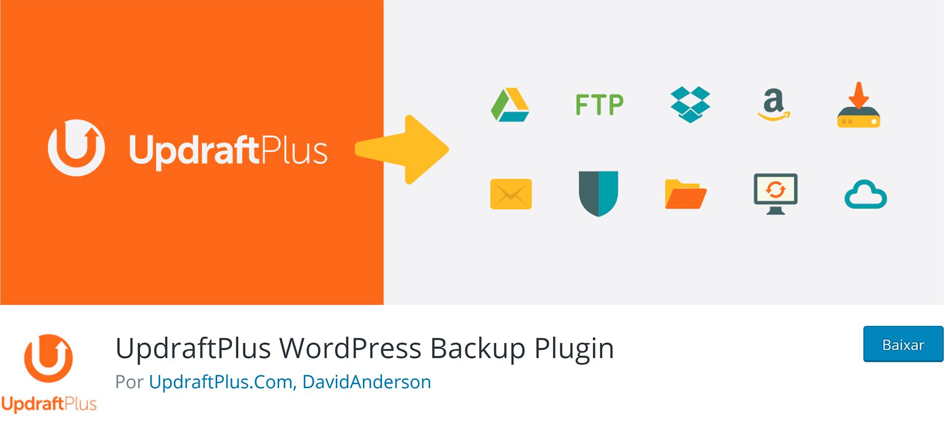 updraftplus backup plugin wordpress
