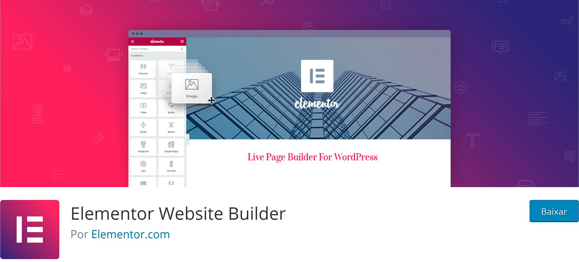 WordPress Plugins Elementor Page Builder