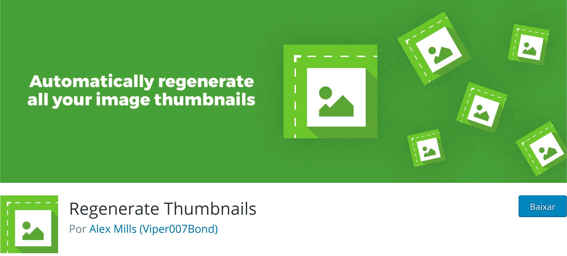 WordPress Plugins Regenerate Thumbnails