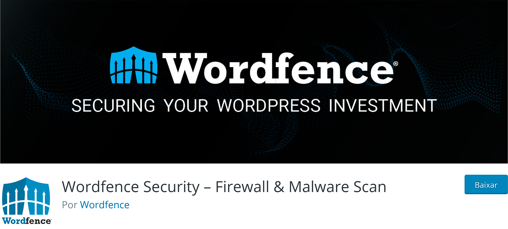 WordPress Plugins Wordfence Security